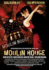 Filmposter Moulin Rouge