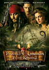Filmposter Pirates of the Caribbean - Fluch der Karibik 2