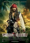 Filmposter Pirates of the Caribbean - Fremde Gezeiten